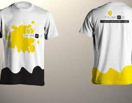 niyajahmad tarafından Design a T-Shirt for Think of IT için no 34