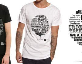 kimuchan tarafından Design a T-Shirt for Think of IT için no 59