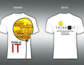 #40 untuk Design a T-Shirt for Think of IT oleh stevelim995