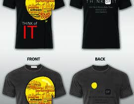#57 cho Design a T-Shirt for Think of IT bởi stevelim995