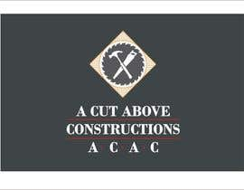 #26 untuk Business Card & Renders for A Cut Above Constructions oleh Shrey0017