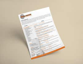 nº 26 pour Design A Document par LascoDaniil