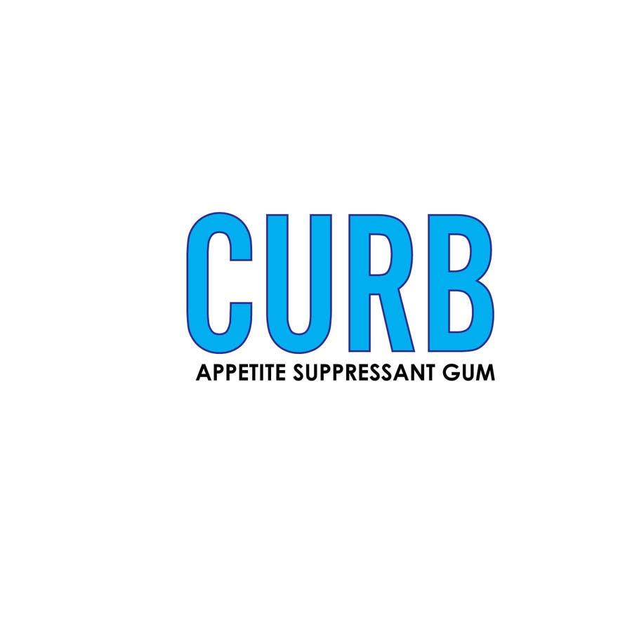 """Kilpailutyö #17 kilpailussa Logo for """"Curb"""" gum"""