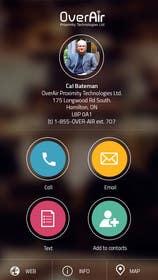 #10 untuk UI/UX Design a Website Mockup for Online Business Cards oleh ankisethiya