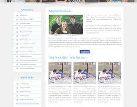 #23 for Design a website page mockup for existing content af oceanganatra