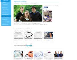 #25 for Design a website page mockup for existing content af charlieekman