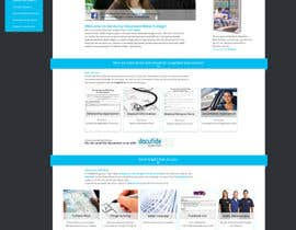 #31 for Design a website page mockup for existing content by charlieekman