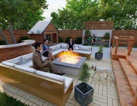 #11 for Outdoor living area redesign by SHUVOMOHANTO623