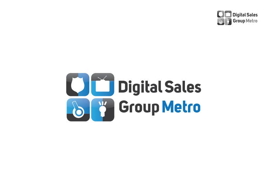 #6 for Design a Logo for Metro Sales by iffikhan