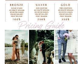 Nro 9 kilpailuun Photography - Videography Price Flyer käyttäjältä sltechtip