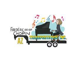 Nro 9 kilpailuun design company logo accourding to honor of Frédéric Chopin käyttäjältä Fritox