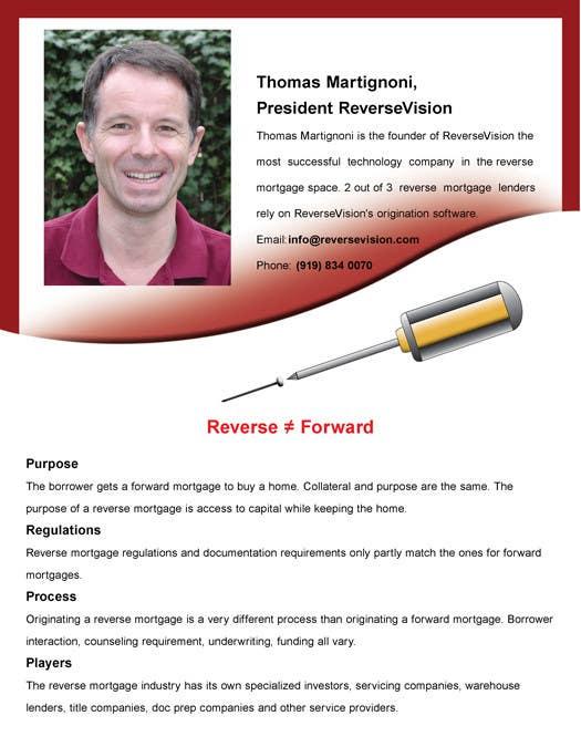 Bài tham dự cuộc thi #5 cho Flyer Design for ReverseVision, Inc.