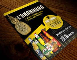 #17 para Design a Flyer for a bar por mirandalengo