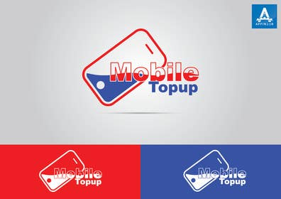 Nro 312 kilpailuun Design a Logo for MobileTopup.com käyttäjältä affineer