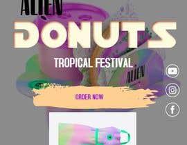 Nro 35 kilpailuun Alien Donuts; Graphic Designer Needed käyttäjältä BeeDock