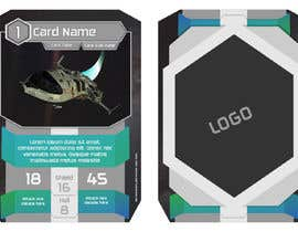 #32 for Card frame design for a sci-fi card game by razqr1911