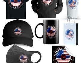 Nro 127 kilpailuun Tshirt, Hat, Sweater, swag designs for Fitness Brand! käyttäjältä rajibislam0003
