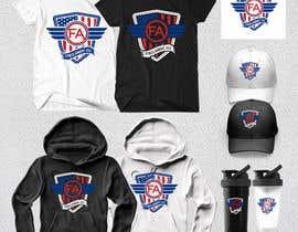 Nro 155 kilpailuun Tshirt, Hat, Sweater, swag designs for Fitness Brand! käyttäjältä Rheanza