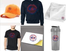 Nro 48 kilpailuun Tshirt, Hat, Sweater, swag designs for Fitness Brand! käyttäjältä ebrahim20011