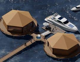 #2 для 3D Architecture for Boardwalk, Coffee Shop and Floating restaurant on water - 10/09/2021 15:19 EDT от Samauddin123