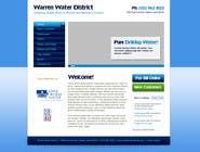 Bài tham dự #2 về Graphic Design cho cuộc thi Design a Website Mockup for Rural Water Company