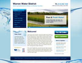 #3 para Design a Website Mockup for Rural Water Company por CreativeDezigner