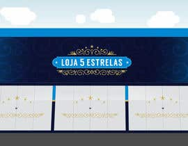 """#104 untuk Projetar um Logo for e-commerce store """"loja 5 estrelas"""" oleh gabrielsaqueto"""