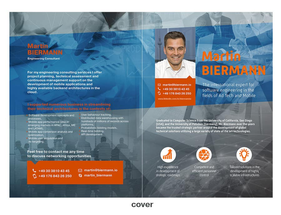 Konkurrenceindlæg #13 for Illustrate mobile/web engineering consultant profile
