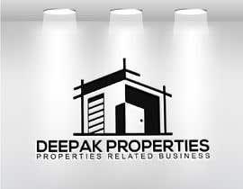 #163 cho Logo : Deepak Properties bởi aklimaakter01304
