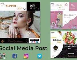 #79 for Social media posts (graphic designer) by BABULKHAN631