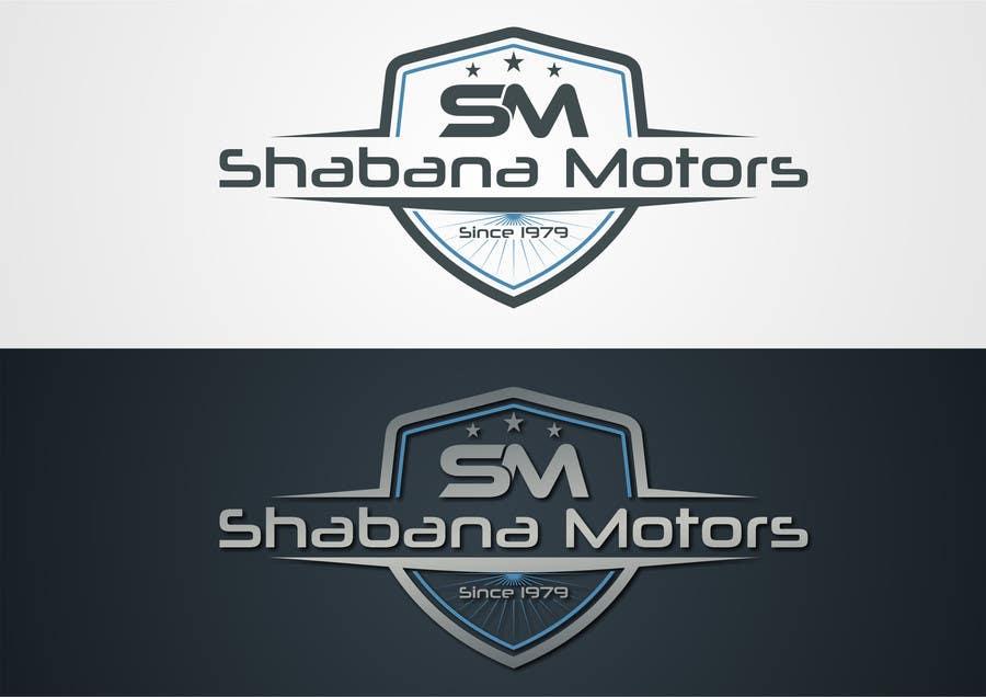 Konkurrenceindlæg #54 for Design a Logo for Shabana Motors