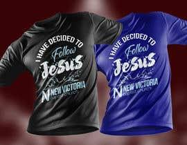 #133 for T-Shirt Design - Baptism by rashedul1012
