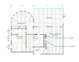 #63 for Redesign  the floor plan of master suite for a better flow by ArchiConsulting
