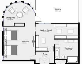 #62 for Redesign  the floor plan of master suite for a better flow by grivangrivan