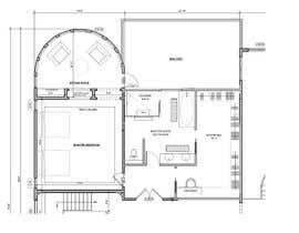 nº 89 pour Redesign  the floor plan of master suite for a better flow par Affiraatta