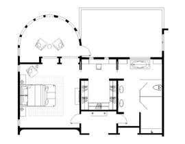 nº 84 pour Redesign  the floor plan of master suite for a better flow par trihapsarisanti