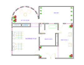 #60 for Redesign  the floor plan of master suite for a better flow by engrshahjahankha