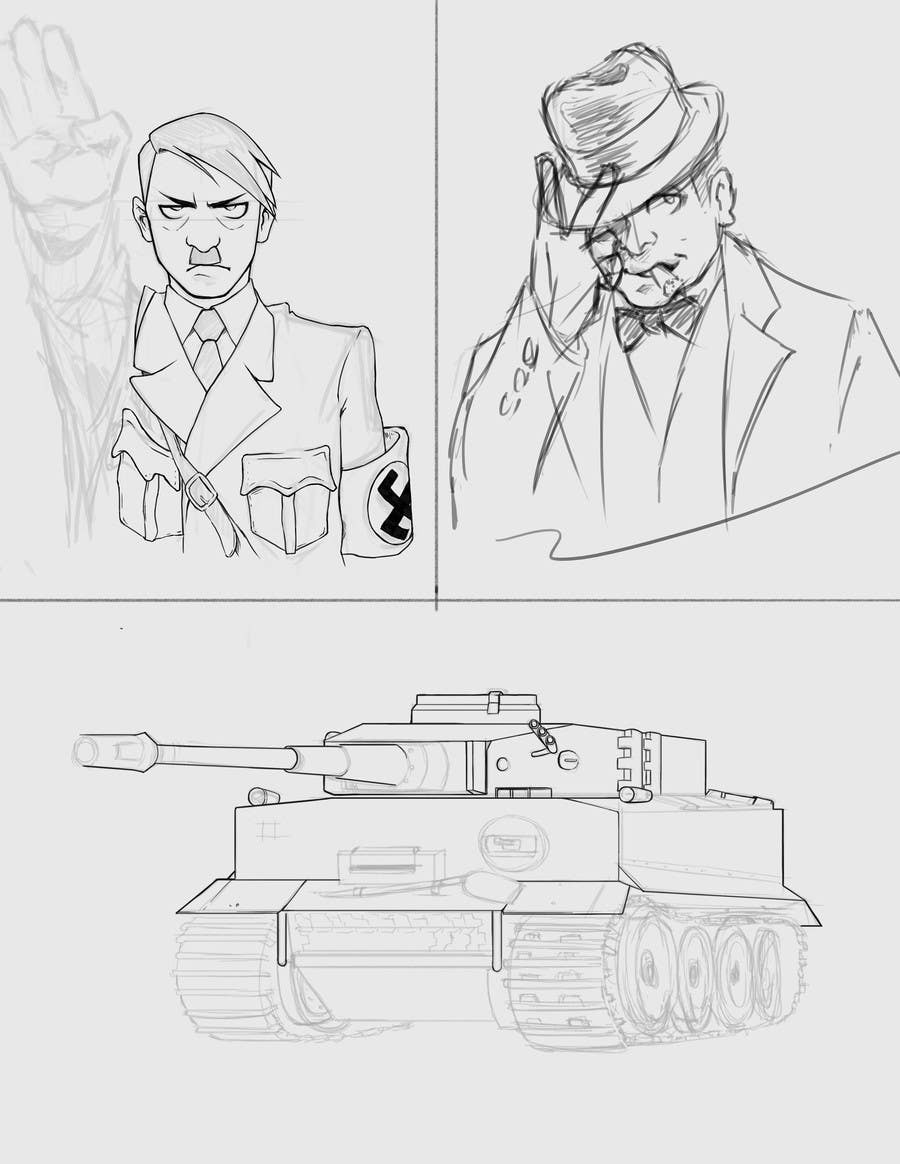Contest Entry #                                        43                                      for                                         Historical figures drawn in anime or manga style art.