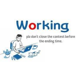 nº 11 pour Bison typing on a computer graphic par nabilanur7827