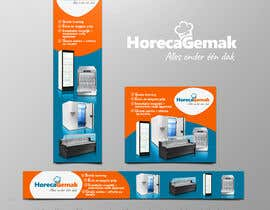 carlosren21 tarafından Advertisement Banners HorecaGemak (3 sizes) için no 92
