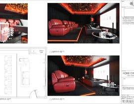 #33 для Home Cinema Design (2 different design options) от MarwaMohammad