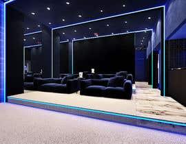 #24 для Home Cinema Design (2 different design options) от krizianik