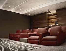 #25 для Home Cinema Design (2 different design options) от Darhnie