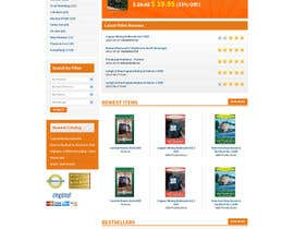 nº 1 pour Entry page and product page layout par tania06