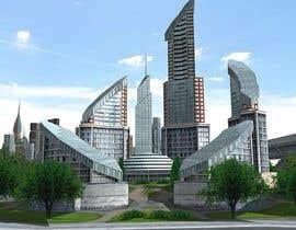 #82 for Build me a 3d futuristic town by GrafixImage