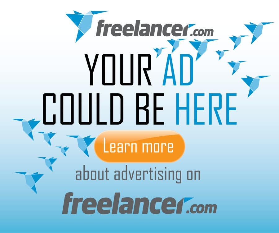 #131 for Design a Banner for Freelancer.com by branislavad