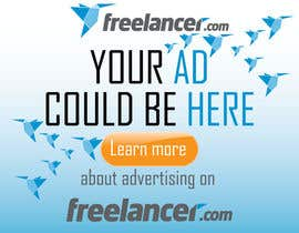 #131 para Design a Banner for Freelancer.com por branislavad