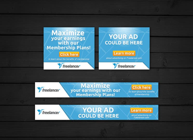 #129 for Design a Banner for Freelancer.com by CreativeDolphin