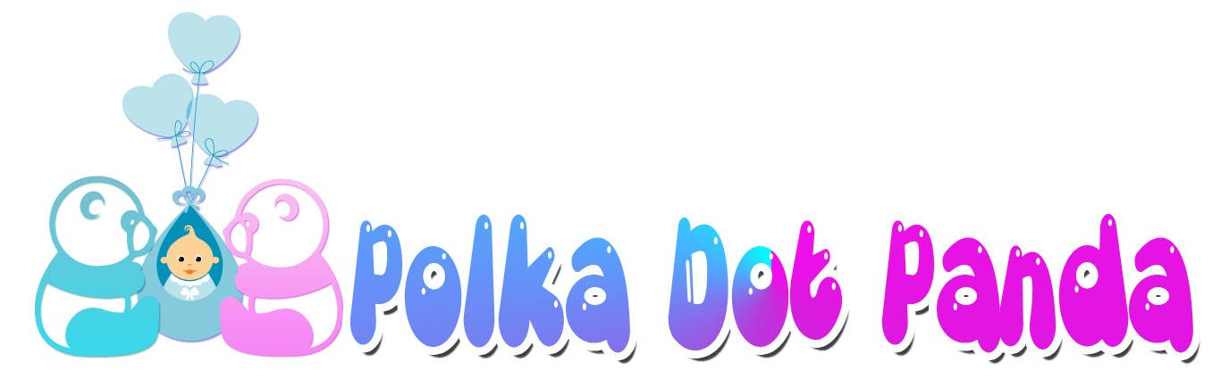 #79 for Design a Logo for a new children's clothes website - Polka Dot Panda by alidicera