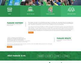 Nro 18 kilpailuun St Patrick's Day home page website design käyttäjältä vivekdaneapen